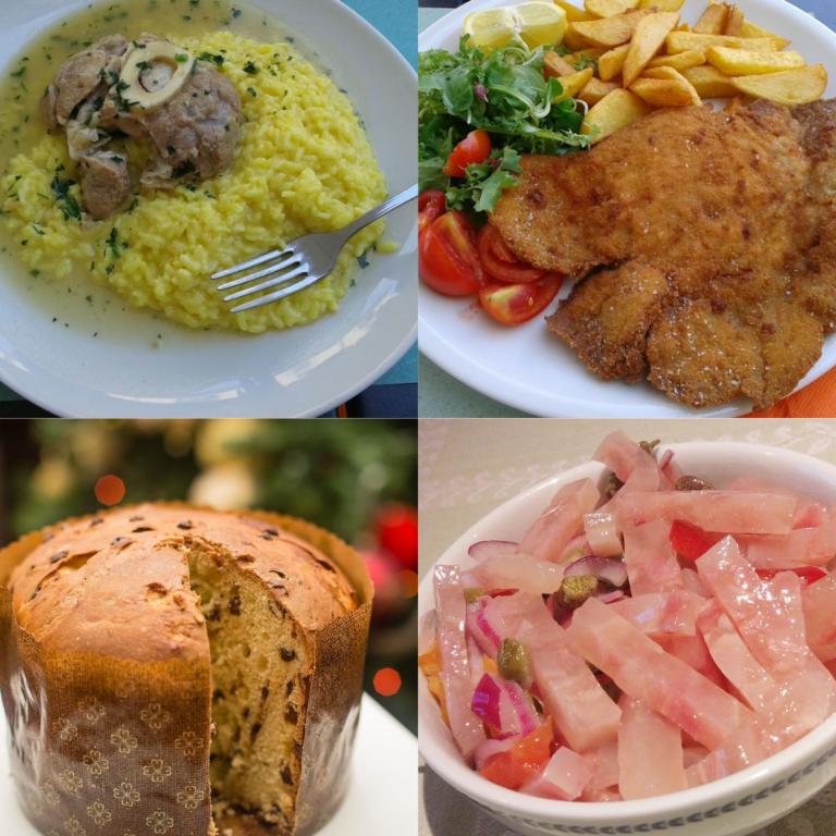 4 piatti tipici di Milano