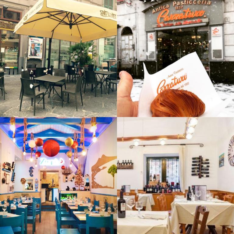4 ristoranti tipici di Napoli