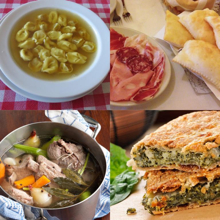4 piatti tipici di Reggio Emilia