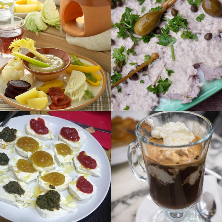 4 piatti tipici di Torino