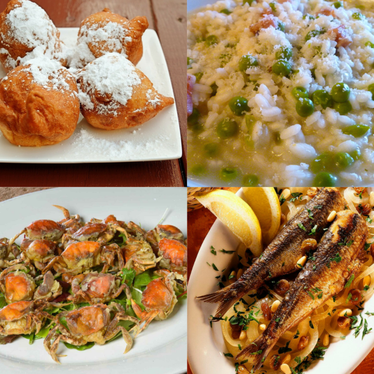 4 piatti tipici di Venezia