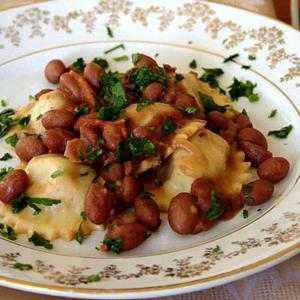 Cosa mangiare Matera Ravioli di pezzente e fagioli di Sarconi
